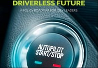 Autonomous car start-stop button