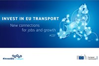 Invest in EU Transport poster