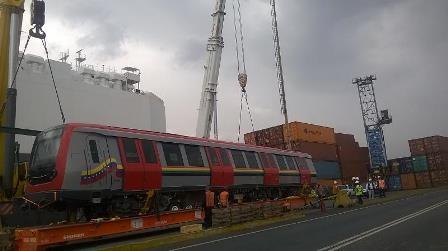 Alstom Delivers The Last Metro To Los Teques Venezuela