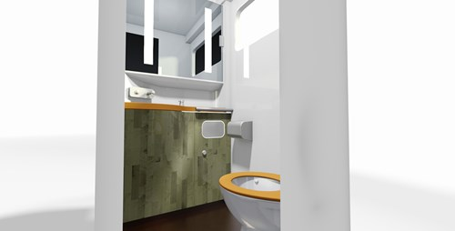 Compin - Interior Architect - Toilet