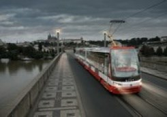 Tramcar Forcity Alfa Prague