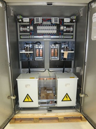 VRS Railway Industry - Power Supply and Control Cabinets