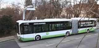 The First Electric Bus Made By CRRC Has Been Put Into Operation in Europe