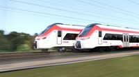lstom manufactures 152 high-capacity X'Trapolis trains for Renfe ES