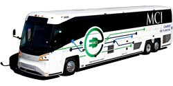 MCI zero-emission coaches approved for max. California HVIP purchase
