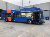 TriMet brings new type of electric bus to into clean energy bus fleet