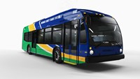 First electric bus order for Nova Bus in the US