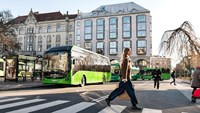 Start of regular operations for Volvo electric buses in Mamlö, Sweden