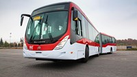 Santiago renws public transport system with new buses from Volvo
