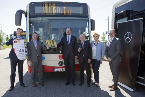Krakow, Gdansk and Bialystok put their trust in city buses from Mercedes-Benz