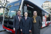 The largest single order for electric buses from a German transport provider