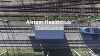 Alstom's HealthHub™ TrainScanner enters service in Warsaw