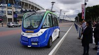 First passengers for NSW's new driverless shuttle
