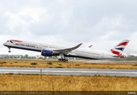 British Airways takes delivery of its first A350-1000