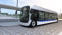 First electric bus inspired by tram design brought to Chile by Alstom