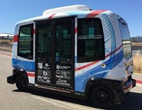 First Transit partners Californian authority for autonomous vehicle