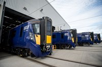 ScotRail's new fleet of electric trains make first journey