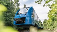 Successful trial operation of world's first two hydrogen trains