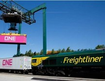 Freightliner and ONE: new partnership will reduce emissions by 67%