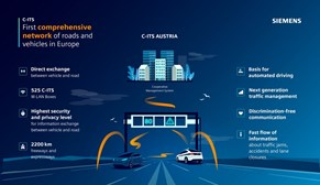 Siemens Mobility provides connected vehicle system for Austria