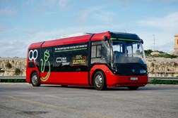 Malta Public Transport unveils First Electric Bus on test in Malta