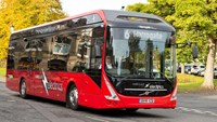 Eight fully electric Volvo buses are in operation in Harrogate in the UK.