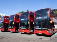 Abellio, ADL celebrate £100M partnership with new Enviro400H buses