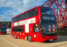 Alexander Dennis selects Proterra to power electric double deck bus