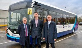 UK's first full-sized autonomous bus begins deport trials