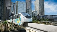 Bangkok's first monorail lines will transport over 400,000 passengers daily