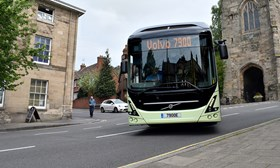 Nearly 60% of surveyed UK transport users embrace electric buses