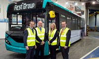 Another 75 ultra-low emission buses for Glasgow arriving in 2019