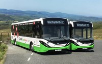 Loyds Coaches commitment to low emission with Enviro200