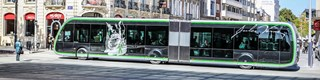 Keolis launch first electric bus rapid transit service in France