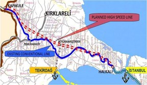 Salini Impregilo to build HS railway in €530m contract in Turkey