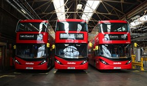 BYD ADL tops 100 electric double deck sales in UK with Enviro400EV