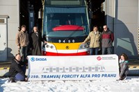 The last tram was delivered to Prague