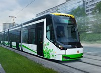 Škoda Transportation presented first tram for German city Chemnitz