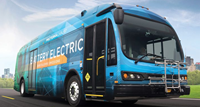 Proterra 35-foot catalyst electric bus comlpetes Altoona testing