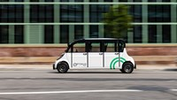 In New York self-driving shuttles are tested in the Brooklyn Navy Yard (Source: Optimus Ride)