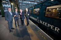 Caledonian Sleeper officially launches £150m new fleet of trains