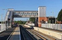 Rail Minister Andrew Jones sees £53.3 million of Market Harborough station improvements including longer platforms, creating more seats and improved journey times