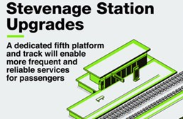 Passengers see service boost with new £40M Stevenage station platform