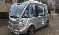 Keolis launches trial of autonomous electric shuttles in Belgium