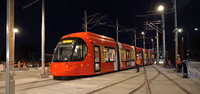 Australia's first wire-free light rail put to the test in Newcastle