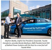 Ballard announces B.C.'s order of hydrogen-powered electric vehicles