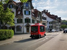 Self-driving vehicle launched in Bern