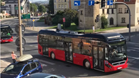 Volvo's hybrid buses are in operation in Jelenia Gora in Poland.