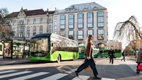Malmö is one of the cities in Sweden that has chosen Volvo's electric buses.