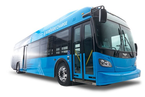New Flyer Xcelsior CHARGE Bus